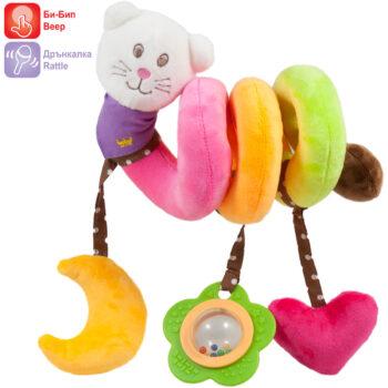 Бебешки играчки за количка