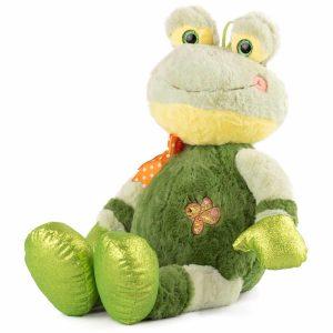 плюшена жаба