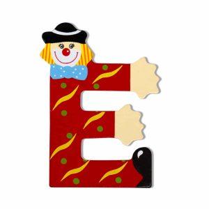 Декоративна дървена буква - Е