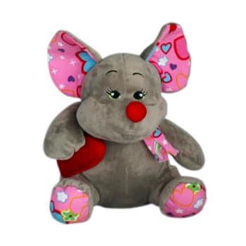 Мишка със сърце| 30см