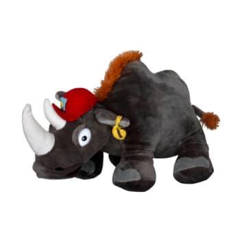 Носорог с шапка