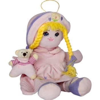 Мека кукла с мече