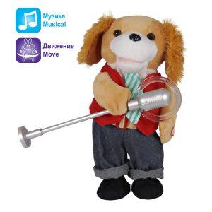 Интерактивна играчка| Куче с микрофон