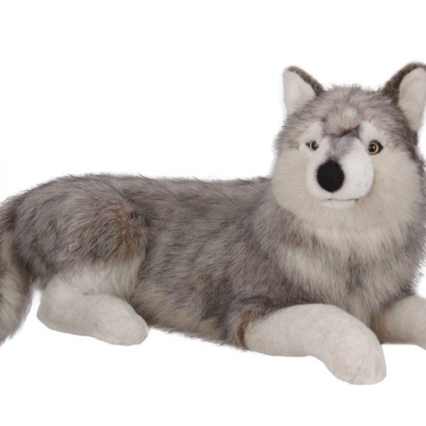 Плюшен сибирски вълк