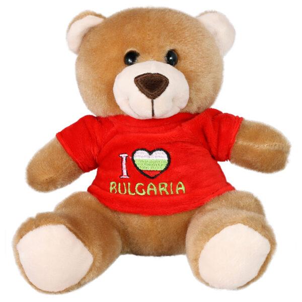 """Мече """"I ♥ BULGARIA"""""""
