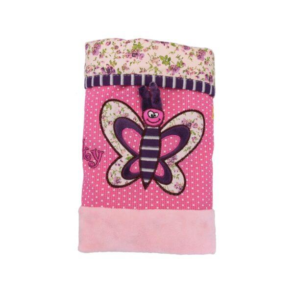 Розова завивка с пеперудка
