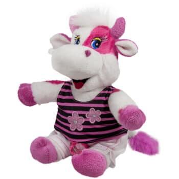 Розова кравичка с блуза
