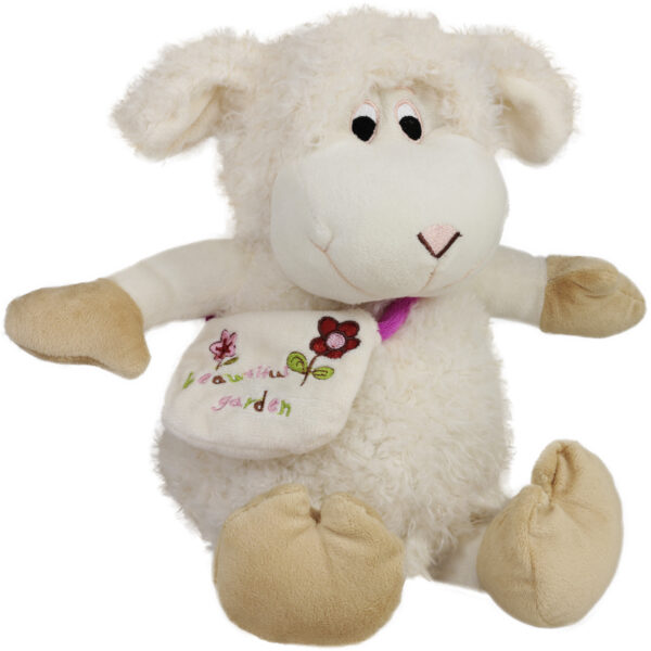 Овца с бродирана чанта