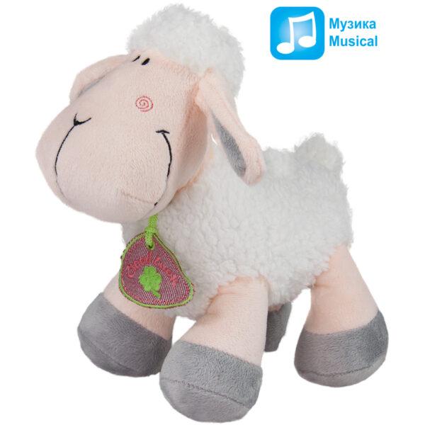 Овца с медальон