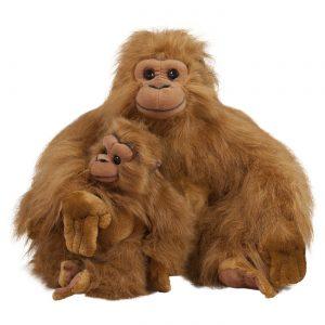 Бабуин с бебе