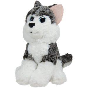 Куче хъски с големи очи